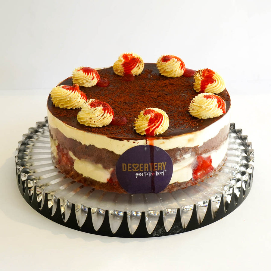 Chocolate Strawberry Cake - TCS Sentiments Express