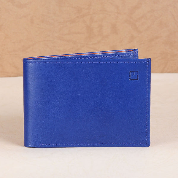 M Jafferjees Blue & Orange Wallet - TCS Sentiments Express