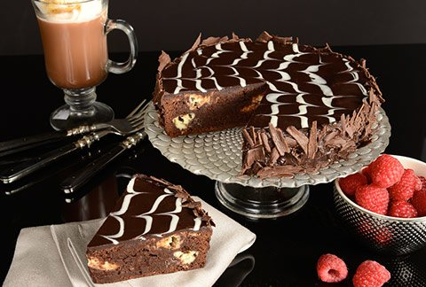 Marble Brownie Cake - TCS Sentiments Express