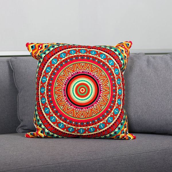 Digitally Printed Mandala Cushion - TCS Sentiments Express