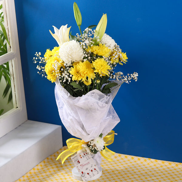 Sunset Boulevard Bouquet - TCS Sentiments Express