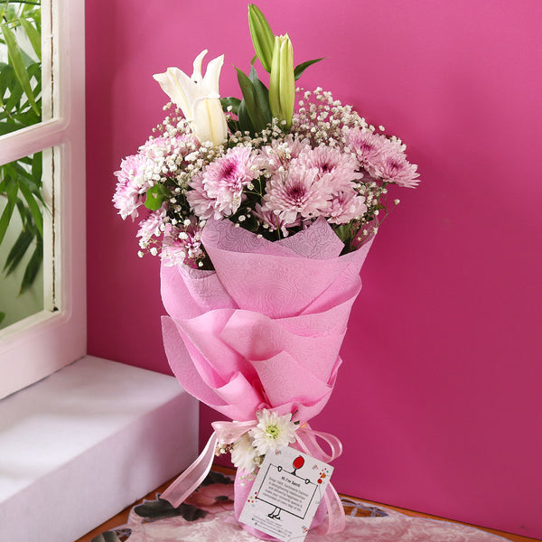 Pastel Blooms Bouquet - TCS Sentiments Express