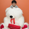 True Love Bear with Pillow (36 inch) - TCS Sentiments Express