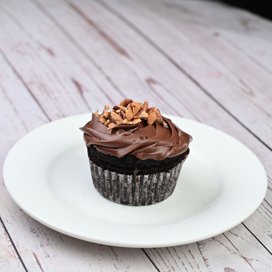 Nutella Filled cupcake - 2 Pc - TCS Sentiments Express