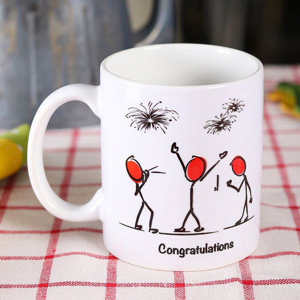 Congratulations Mug - TCS Sentiments Express