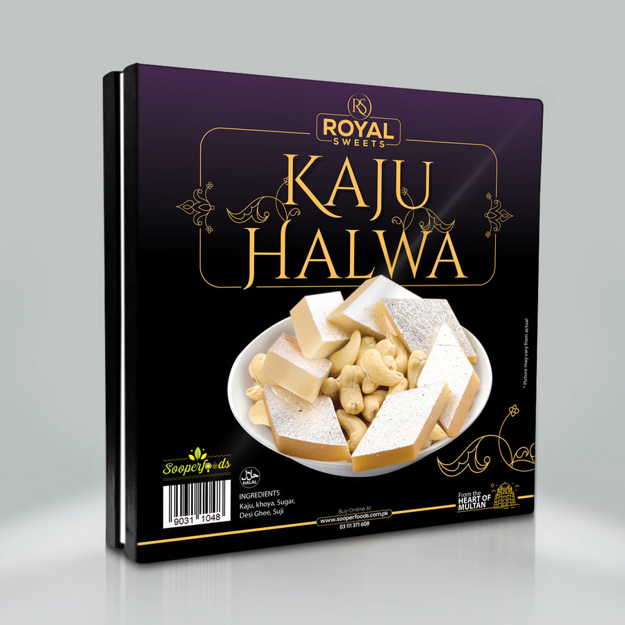 Kaju Halwa - TCS Sentiments Express