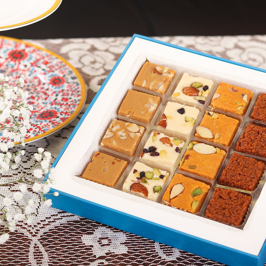 Baby Boy Mixed Mithai - TCS Sentiments Express