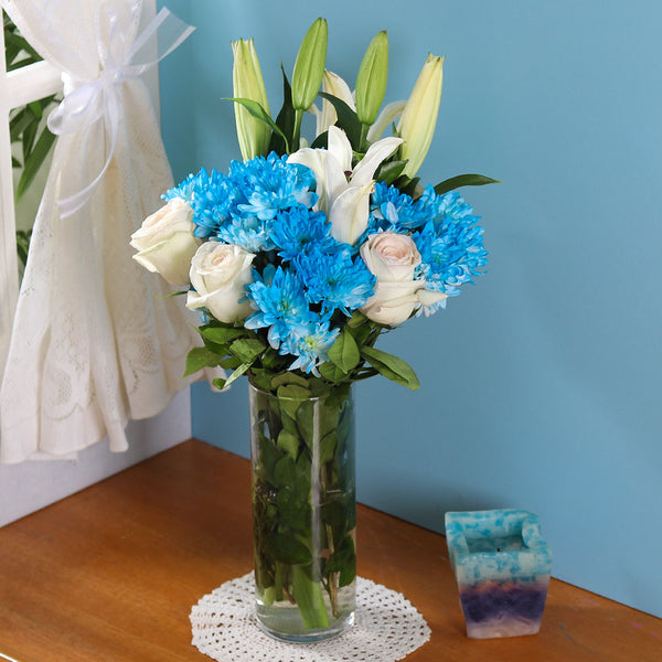 Oceanside Blue Bouquet - TCS Sentiments Express