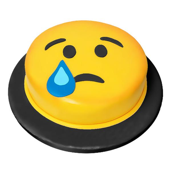 Crying Emoji Cake 3LBS - TCS Sentiments Express