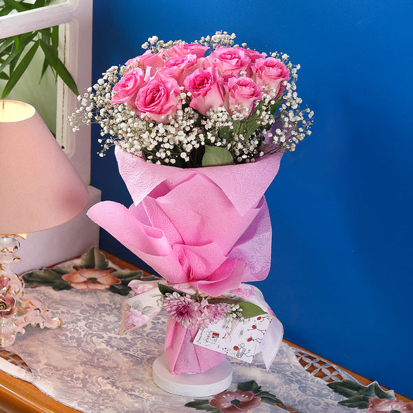Pink Dream Bouquet - TCS Sentiments Express