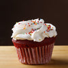 Red Velvet cupcake - 6 Pc - TCS Sentiments Express