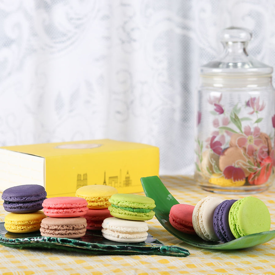 Macarons - 12 Pcs. Box - TCS Sentiments Express