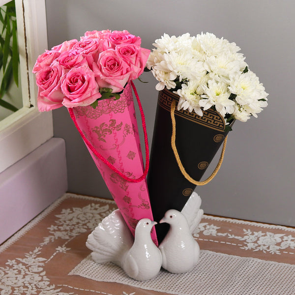 Couple Bouquet (Imported) - TCS Sentiments Express