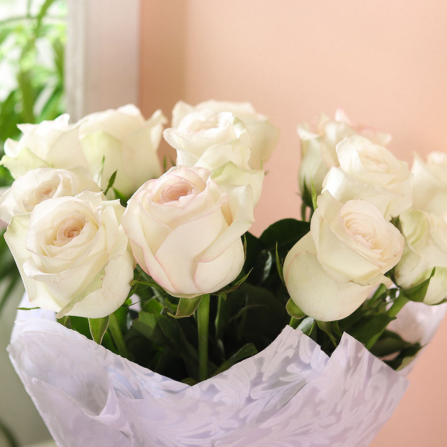White Rose Bouquet - TCS Sentiments Express