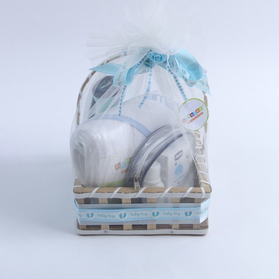 Boys Gift Basket Square