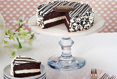 Black and White Mousse Cake - Sentiments Express