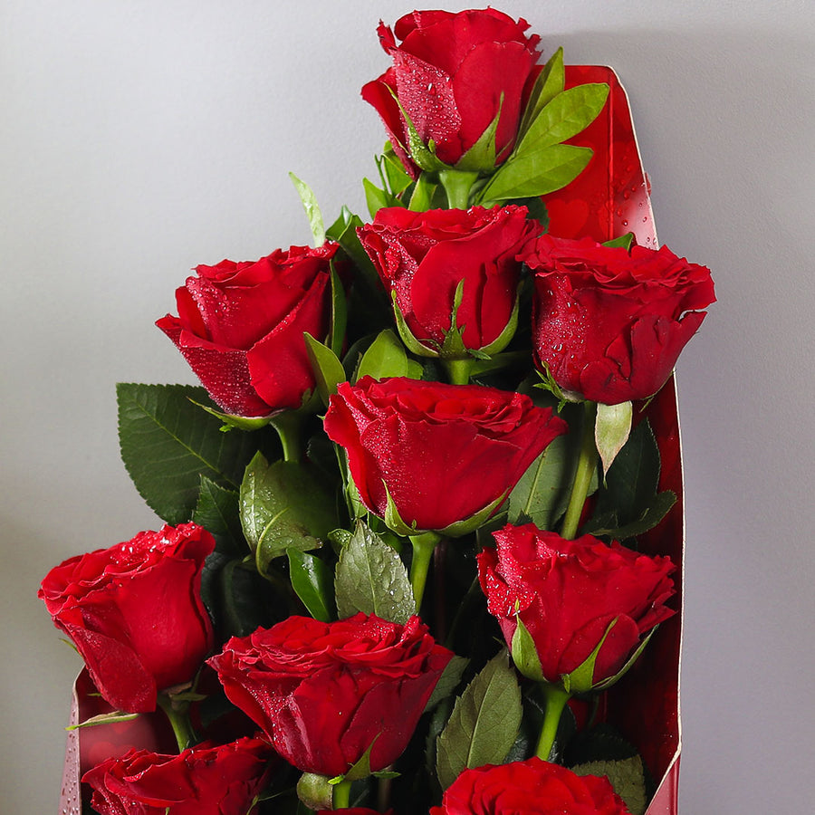 Roses in a Cone - TCS Sentiments Express