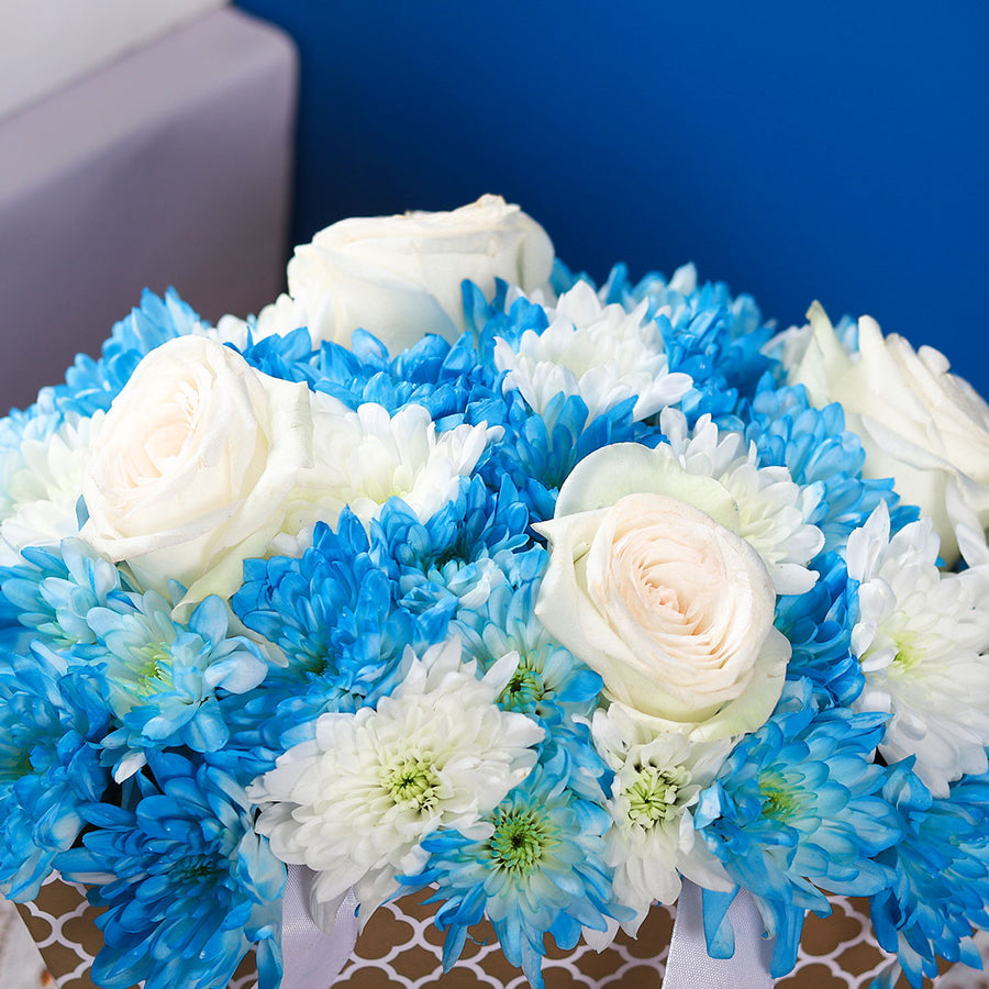 Azure Skies Flower Arrangement - TCS Sentiments Express
