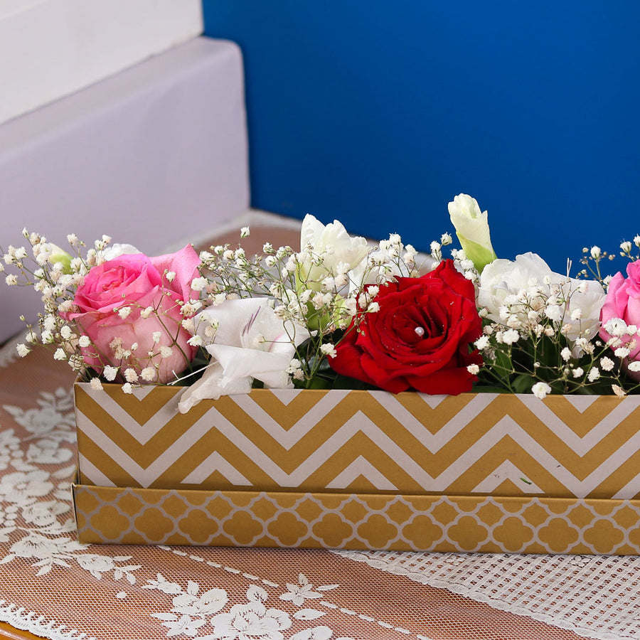 Chic Rose Arrangement - TCS Sentiments Express