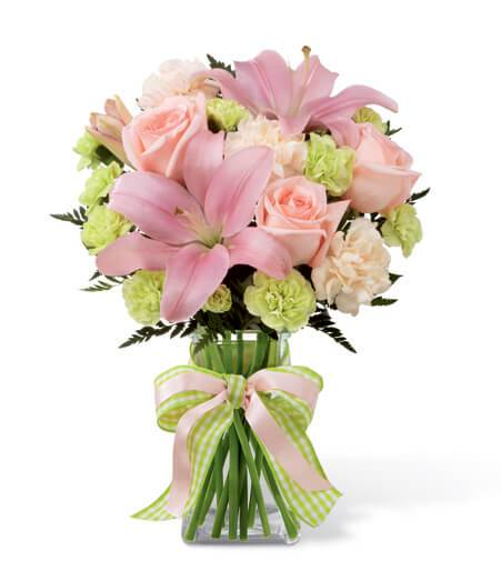 The Girl Power Bouquet - TCS Sentiments Express
