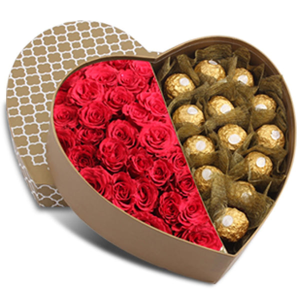 Ferrero & Roses Heart Box