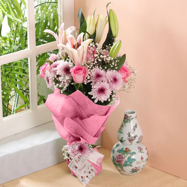 Blessings Bouquet - TCS Sentiments Express