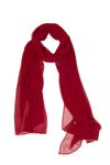 Maroon  Basic Wraps