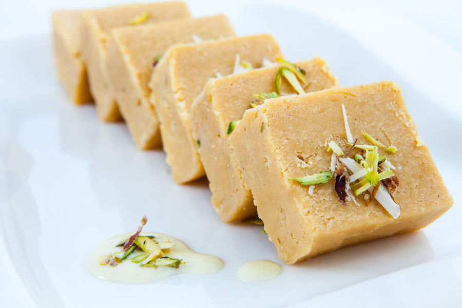 Nawal - Plain Barfi- 1 kg - TCS Sentiments Express