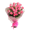 Pink Roses Bouquet - Medium size
