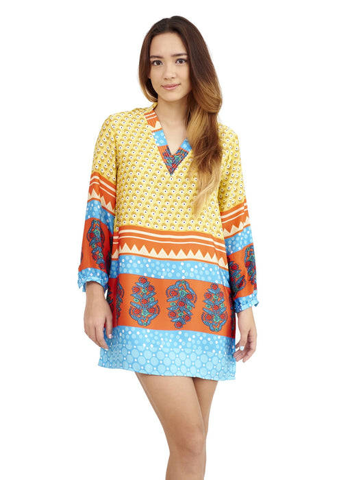 Arden Yellow | Tunic Top