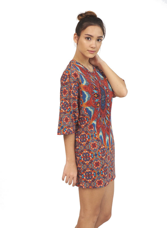 Lucienne | Mini Tunic Dress