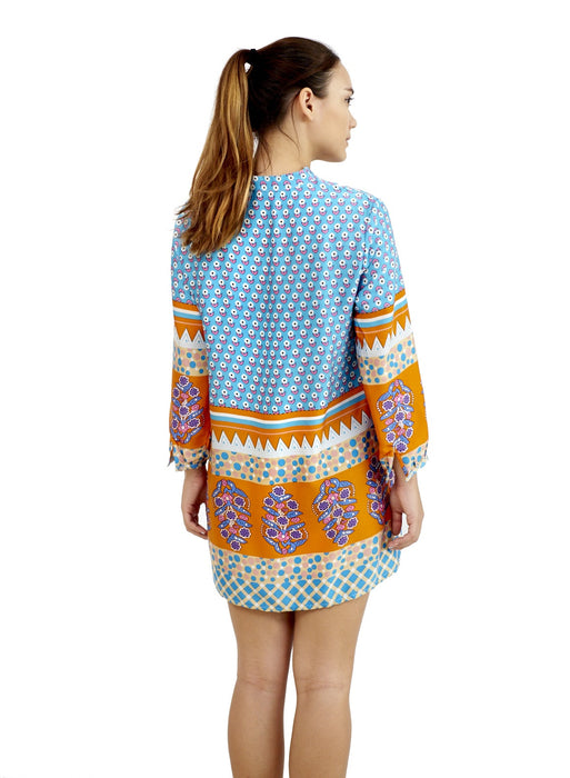 Arden Blue | Tunic Top
