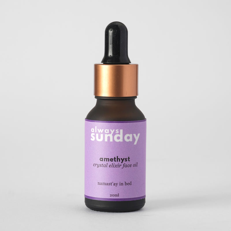 Amethyst Crystal Elixir | Face Oil
