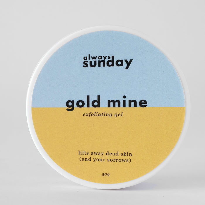 Gold Mine | Exfoliating Gel