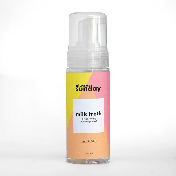 Milk Froth | Brightening Foaming Wash