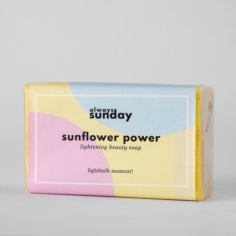 Sunflower Power | Dark Spot Lightening Soap