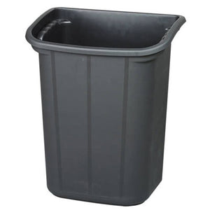 JB-BIN1, Long bin Black for utility carts - JaboeEuip