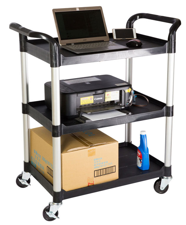 JBB 300, 3 Tiers Shelving Office Utility Carts