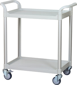 JBG-200, 2 tiers Shelving Medical carts - JaboeEuip 3 tiers Shelving Office Rolling Utility cart Service cart Rolling cart