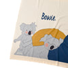 **KOALA Personalised Name Blanket- BLUE