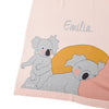 **KOALA Personalised Name Blanket- PINK