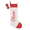 Cupid Christmas Stocking Baked Apple