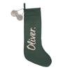 Comet Christmas Stocking Dark Forest Lurex