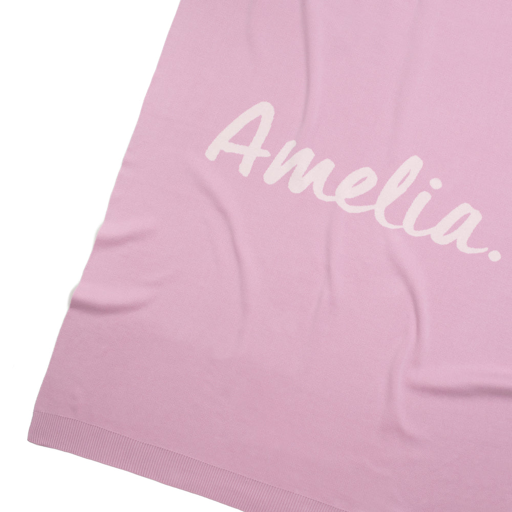 Load image into Gallery viewer, Lavender & Orchid Ice Personalised Name Blanket