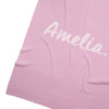 Lavender & Orchid Ice Personalised Name Blanket