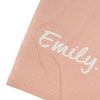 Nep Pink Confetti & Ivory Personalised Name Blanket
