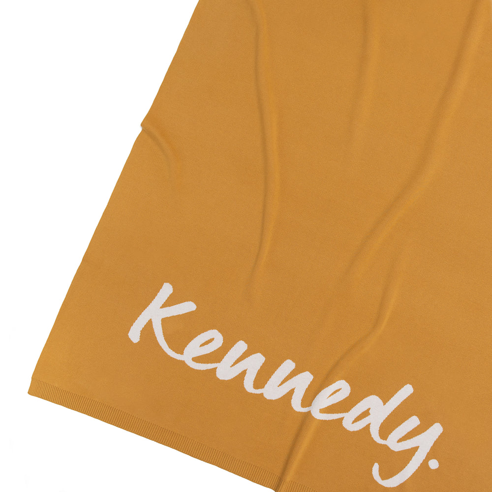 Load image into Gallery viewer, Goldie & Ivory Single Bed Personalised Name Blanket