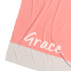 LILY PINK PANEL Personalised BLANKET