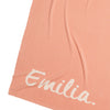 English Rose & Coconut Single Bed Personalised Blanket