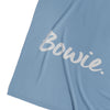 Cotton Cashmere Chambray Blue & Moonlight Name Blanket